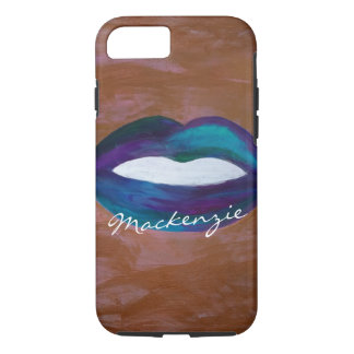 Amorous Tech | Name Lips Kiss XOXO Lipstick Diva iPhone 8/7 Case