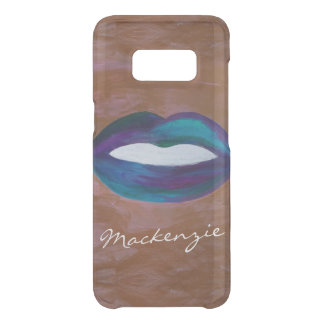 Amorous Tech | Name Lips Kiss XOXO Lipstick Diva Uncommon Samsung Galaxy S8 Case