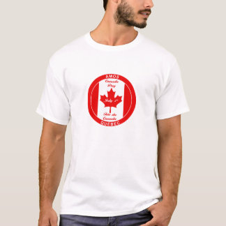 AMOS QUEBEC CANADA DAY T-SHIRT
