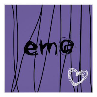 amour 1 d'emo posters