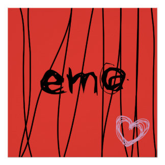 amour 2 d'emo posters