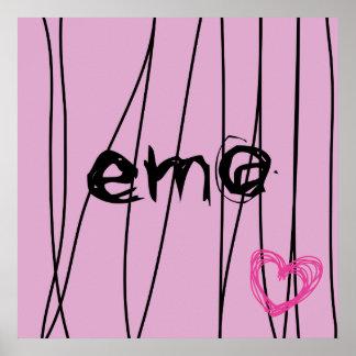 amour 4 d'emo affiche