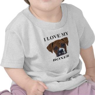 Amour de boxeur t-shirts