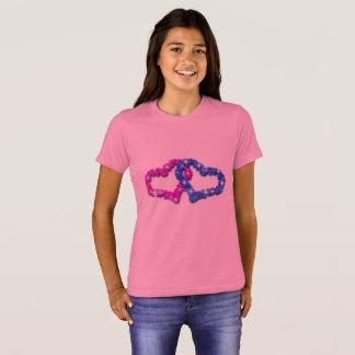 Amour de coeur de couronne t-shirt