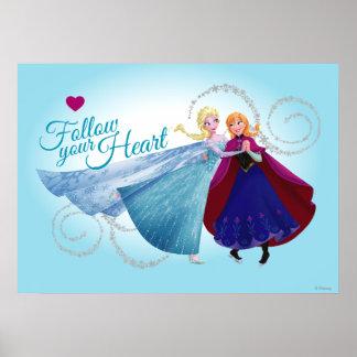 Amour de famille d'Anna et d'Elsa |