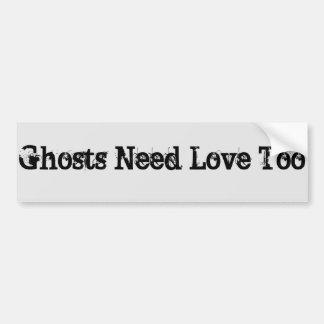 amour de fantôme autocollant de voiture