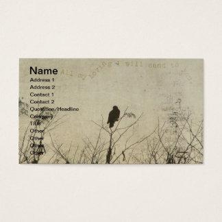 Amour de faucon, faucon en art numérique de cartes de visite