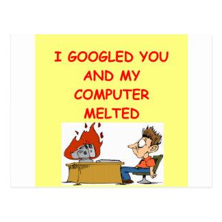 amour de google carte postale