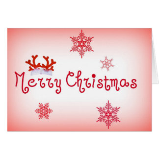 Amour de Joyeux Noël Cartes De Vœux