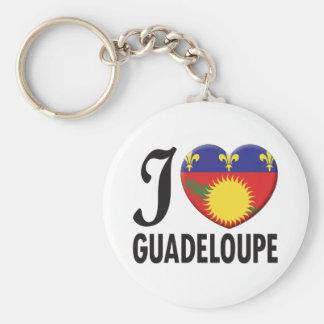 Amour de la Guadeloupe Porte-clé Rond