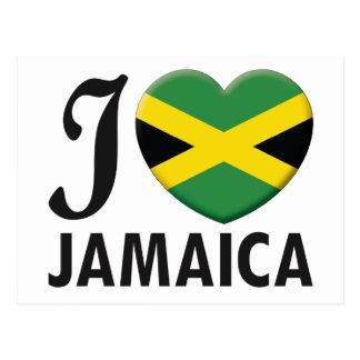 Amour de la Jamaïque Carte Postale
