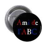Amour de Les Misérables : Ami de l'ABC Button Macaron Rond 5 Cm