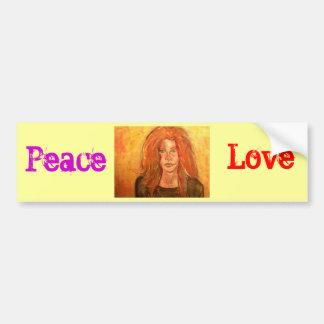 Amour de paix                            … autocollant de voiture