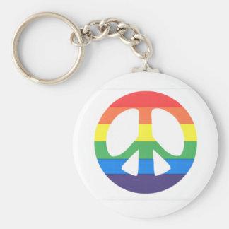 Amour de paix porte-clé