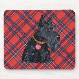 Amour de Terrier d écossais Tapis De Souris