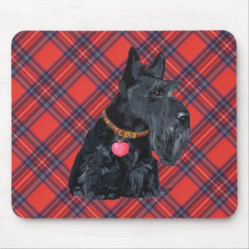 Amour de Terrier d'écossais Tapis De Souris