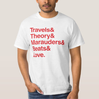 Amour de Travels& Theory& Marauders& Beats& T-shirt