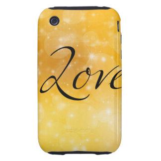 Amour d'or étuis iPhone 3 tough
