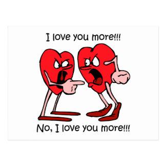 Amour drôle cartes postales