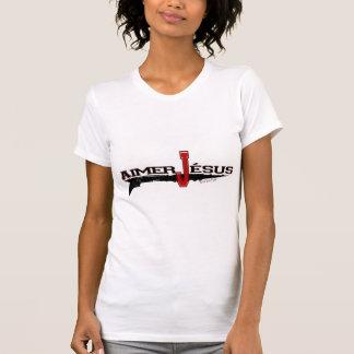 Amour le Christ (édition en français) de Jésus | T-shirt