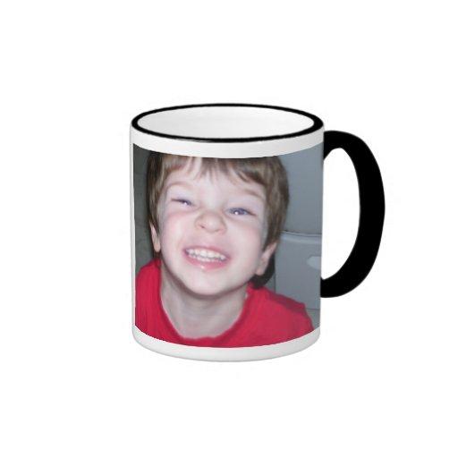 Amour personnalisé d'I ma tasse de photo de papa