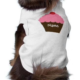 Amour rose de petit gâteau manteaux pour chien