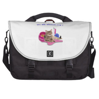 Amoureux de les chats sacoche pour ordinateurs portables