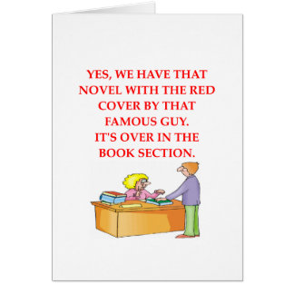 amoureux des livres carte de vœux
