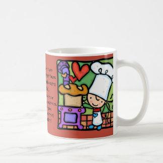 Amours de LittleGirlie pour faire la boulangerie Mug Blanc