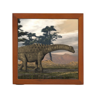 Ampelosaurus dinosaur desk organizer