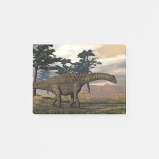 Ampelosaurus dinosaur post-it notes