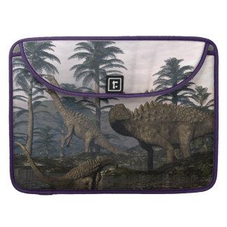 Ampelosaurus dinosaurs sleeve for MacBook pro