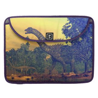 Ampelosaurus dinosaurs sleeve for MacBooks