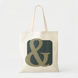 Ampersand design tote bag