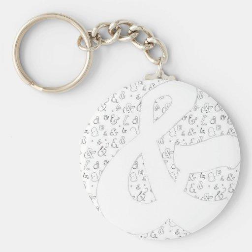 Ampersand Key Chain