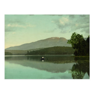 Ampersand Mountain at Round Lake (Middle Saranac) Postcard