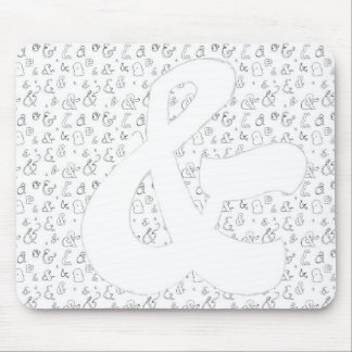Ampersand Mouse Pad