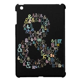 Ampersand pastels iPad mini cover