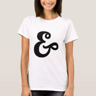 &, ampersand sign T-Shirt