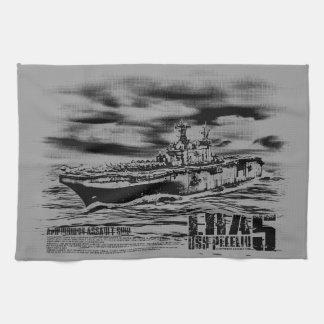 Amphibious assault ship Peleliu Dawsonsf kitchent Kitchen Towel