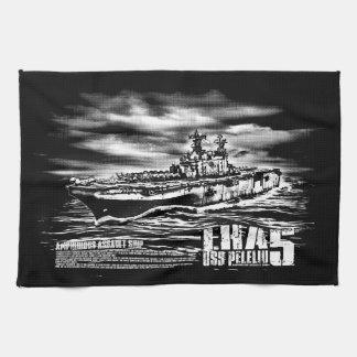 Amphibious assault ship Peleliu Dawsonsf kitchent Towels