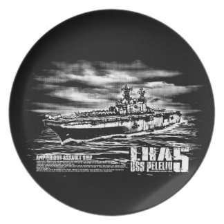 Amphibious assault ship Peleliu Fuji plate