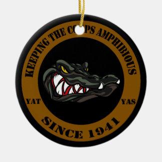 Amphibious Since 1941 Ceramic Ornament