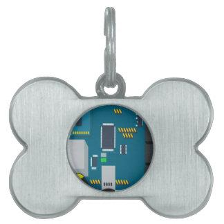 amphisbaena two platform dtn node vector pet tag