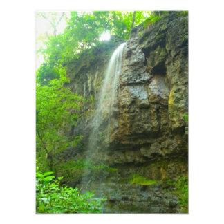 Amphitheatre Falls, John Bryan state park, Ohio Photo Print