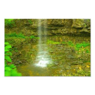 Amphitheatre Falls, John Bryan state park, Ohio Photographic Print