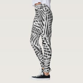 Ampiyas artwork on apparel leggings