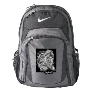 Ampiyas artwork on Nike backpack