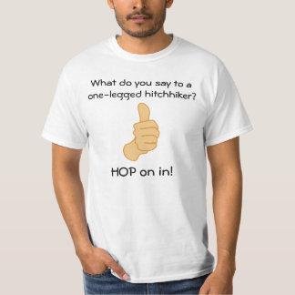 Amputee Hitchhiker T-Shirt