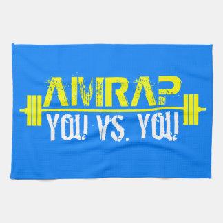 AMRAP - Heart Over Mind Kitchen Towel